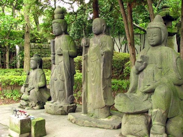 増上寺四菩薩像☆港区芝公園