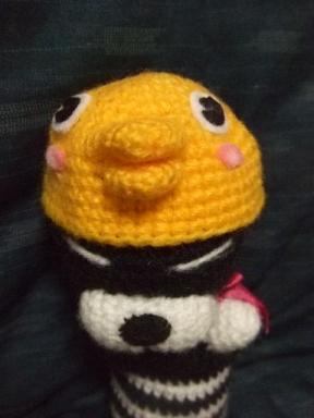 ひよこ帽子です☆