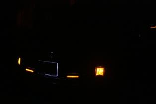 デイライトウインカー発光
