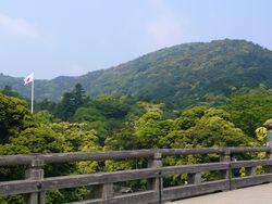 宇治橋景色