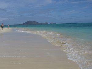 ラニカイの海と白砂