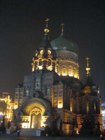 夜の聖ソフィア教会