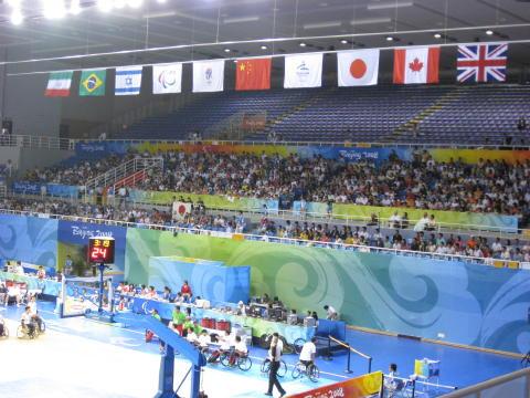 北京科技大学体育館2