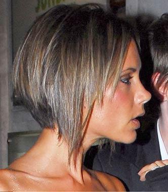 Corte cabello victoria beckham