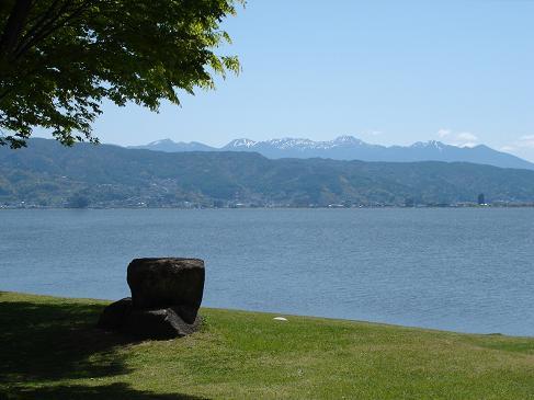 春の諏訪湖.JPG
