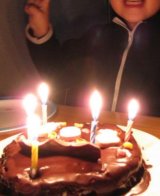 5歳のお誕生日だよ