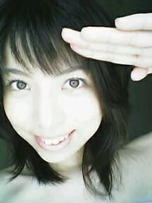 小田京子さんの自撮り