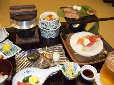 2009群馬旅行-岸権夕食1