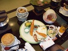 2009群馬旅行-岸権夕食2