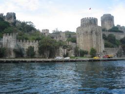 トルコ イスタンブール ボスポラス海峡 クルージング 砦