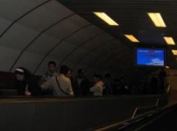トルコ イスタンブール 地下鉄 エスカレーター