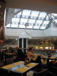 トルコ イスタンブール ショッピングセンター カフェ