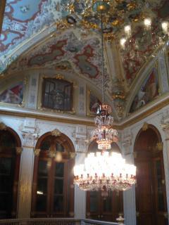 トルコ イスタンブール ドルマバフチェ宮殿 ケマル パシャ