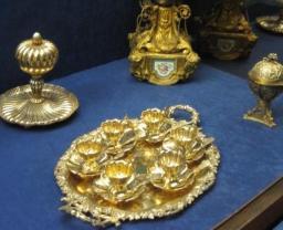 トルコ イスタンブール ドルマバフチェ宮殿 ゴールド 黄金