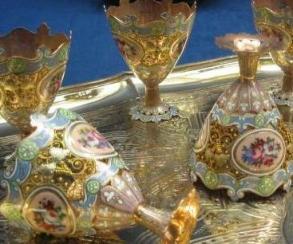 トルコ イスタンブール ドルマバフチェ宮殿 宝物