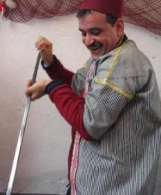 トルコ イスタンブール ドンドルマアイス おじさん