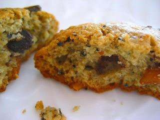 黒胡麻&チョコチップスクッキー割ってみた2010.02.13