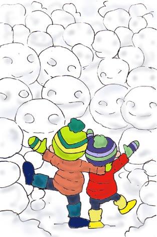 雪だるま界