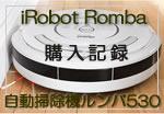 iRobotRoomba購入記録【自動掃除機ルンバ530】