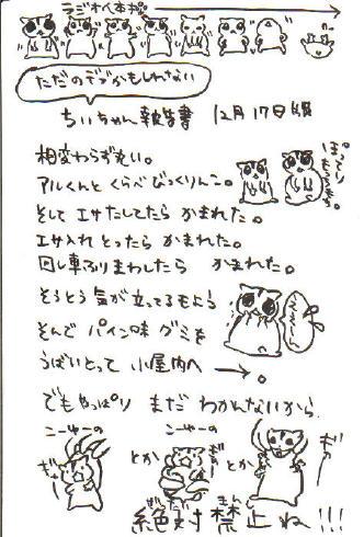 ちぃ報告書2