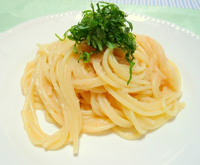 080320たらこスパゲティー