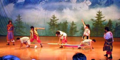 九寨溝 民族ショー2