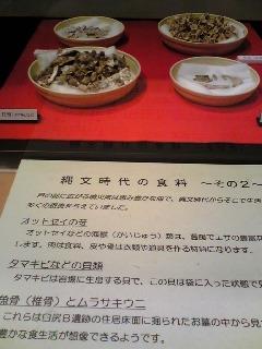 縄文時代の食料