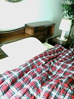 私のベッドルーム
