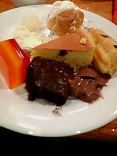 チャイニーズレストランのデザート