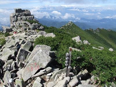 金峰山山頂からの眺め03