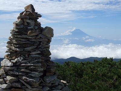 金峰山からの富士山01
