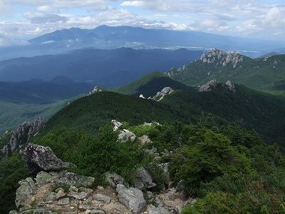 瑞牆山と八ヶ岳連峰02