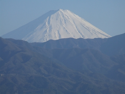 フルーツ公園からの富士山