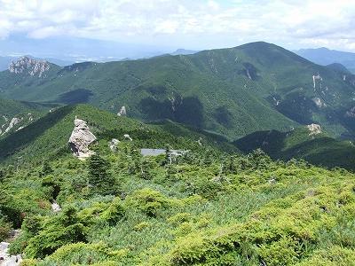 小川山と瑞牆山