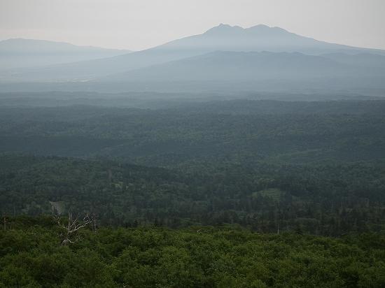 藻琴山から斜里岳