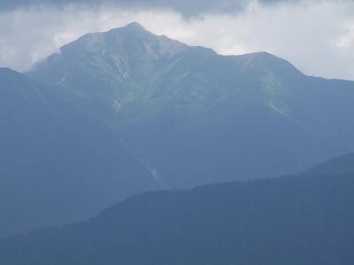 大観峰から鹿島槍