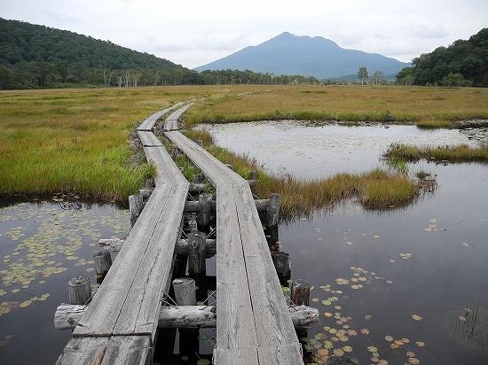尾瀬ヶ原から燧ヶ岳01
