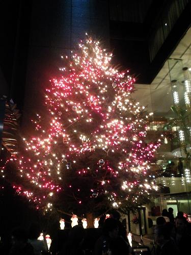 ミキモト本店・クリスマスツリー