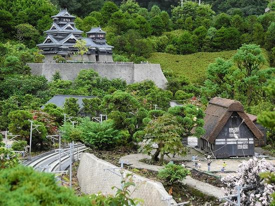 熊本城と白川郷