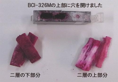 BCI-325PGBK の中身