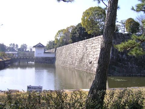 二条城 本丸のお堀