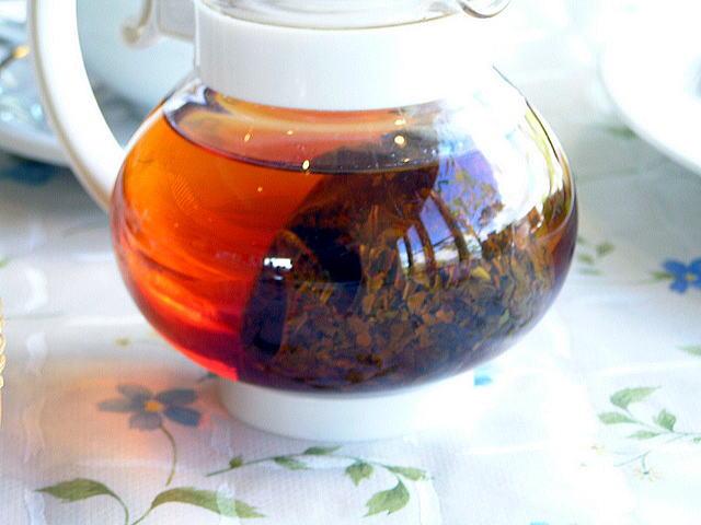ベーカリーレストラン カンパーニュ SUWAガラスの里店の紅茶