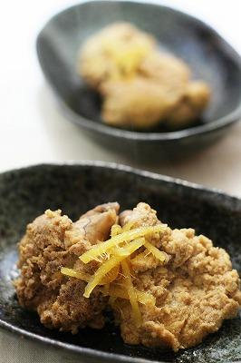 生たらこの煮付け(スケトウダラ・ひげ鱈