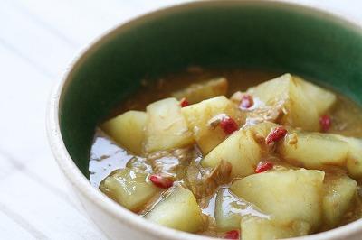 冬瓜のツナカレー煮