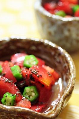 ぷちぷち好きのトマトんぶり