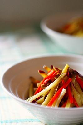 レンチン根菜のミルキーマヨサラダ