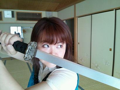 カルーア啓子 刀