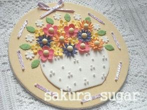 2010.10.3お花のプラーク