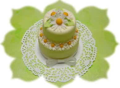 2007.7.8デイジー2段ケーキ