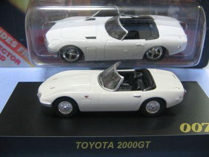 コーギ&京商 007-トヨタ2000GT